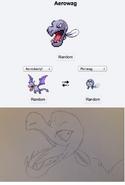 Pokemon fusion aerowag