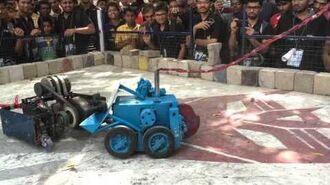 Robot Wars (Smack Botz) Finals, Footprints X6, MS University, India