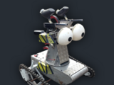 Oll-E the Paintball Bot