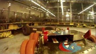 "RoboGames 2012 ""Bot Cam""Sewer Snake vs Ragin' Scotsman"