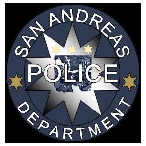 AttÄlu rezultÄti vaicÄjumam âgta san andreas police department logoâ