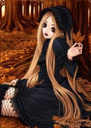 Gothic anime girl