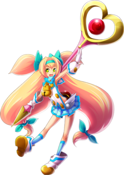 Platinum the Trinity (Chrono Phantasma, Character Select Artwork)