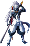 Hakumen (Chrono Phantasma, Character Select Artwork)