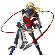 Noel Vermillion (Story Mode Artwork, Chronophantasma, Pre Battle)