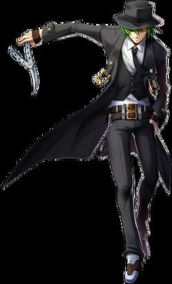 Hazama (Chrono Phantasma, Character Select Artwork)