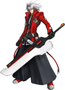 Ragna the Bloodedge (Calamity Trigger, Character Select Artwork)