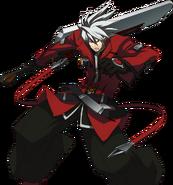 Ragna the Bloodedge (Story Mode Artwork, Pre Battle)