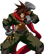 Bang Shishigami (Story Mode Artwork, Defeated)