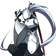Hakumen (Story Mode Artwork, Pre Battle)