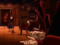 Katara bloodbends ship captain