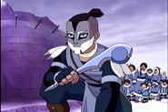 Sokka with Club