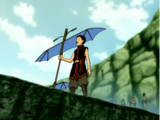Aang's second staff (Glider)