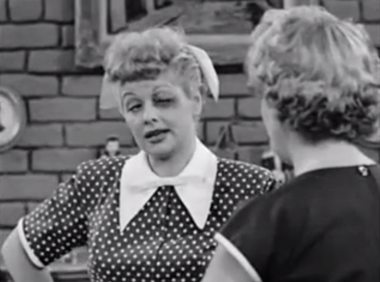 Image - The black eye lucy and ethel.png | Ultimate I Love Lucy Wiki ...