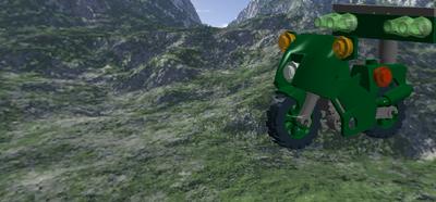 Green Ninja's Attack Cycle