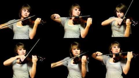 The Avengers Theme - Violins - Taylor Davis