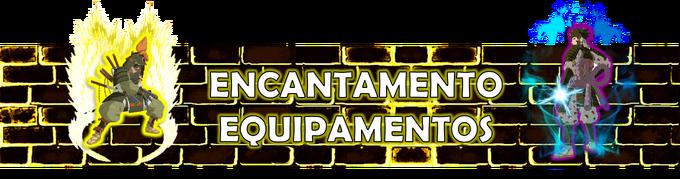 Muro encantamento de equipamentos