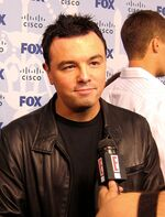 Seth MacFarlane at Fox Fall Eco-Casino Party - 8 September 2008 crop