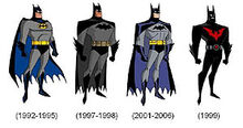 DCAU batsuits