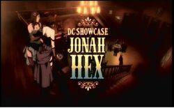 Jonah Hex (DC Showcase banner)