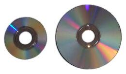 Nintendo GameCube Game Disc and Wii Optical Disc
