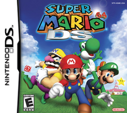 Super Mario 64 DS Coverart