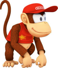 MPSR Artwork - Diddy Kong