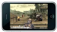 Metal Gear Solid Touch (teaser screenshot)