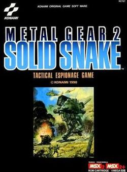 Metal Gear 2 Boxart