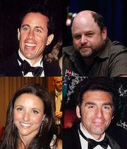 Seinfeld actors montage