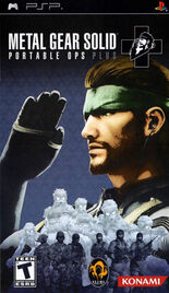 Metal Gear Solid - Portable Ops Plus (North American box art)