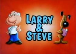 Larry & Steve titlecard
