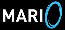 Mari0 video game logo