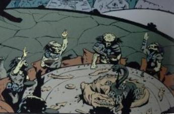 Predator-feast