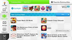 Miiverse Wii U screenshot