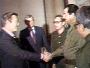 Saddam rumsfeld