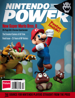 Cover of final Nintendo Power issue