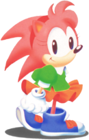 Amy Rose First Generation