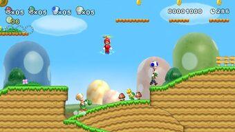 New Super Mario Bros Wii Ultimate Pop Culture Wiki Fandom