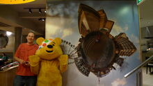 BBC pudsey bear in sheffield children in need-2009