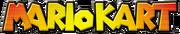 Mario kart first logo