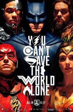 Justice League film poster