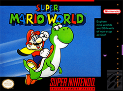Super Mario World Coverart