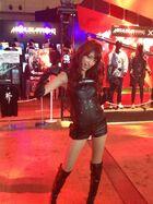 Serina Mochizuki in Metal Gear Rising of TGS 2012