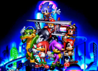 Tails knuckles chaotix
