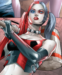 Harley Quinn Poison Ivy Cycle of Life and Death