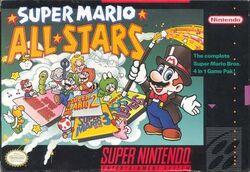 Super Mario All Stars (game box art)