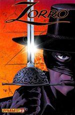 Zorro 2008 01 cover