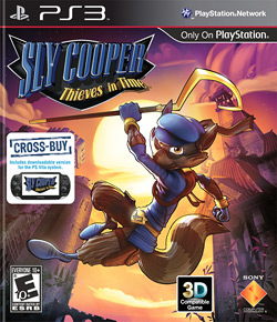 Sly Cooper - Thieves in Time Cover Art