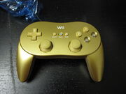 Gold classic controller pro